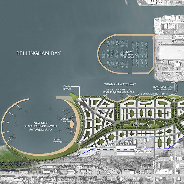 Bellingham Bay Masterplan, Washington USA
