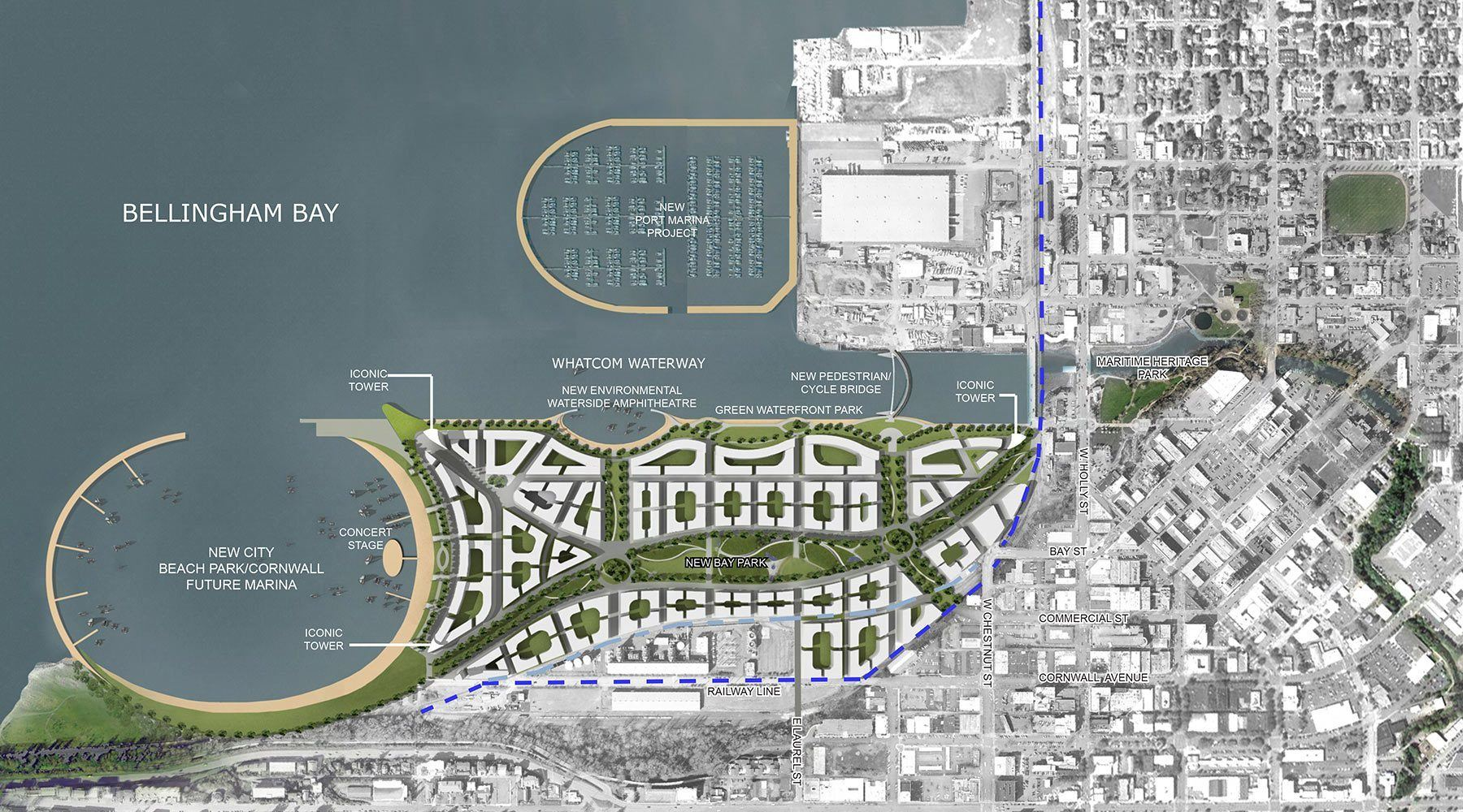 Bellingham Bay Masterplan