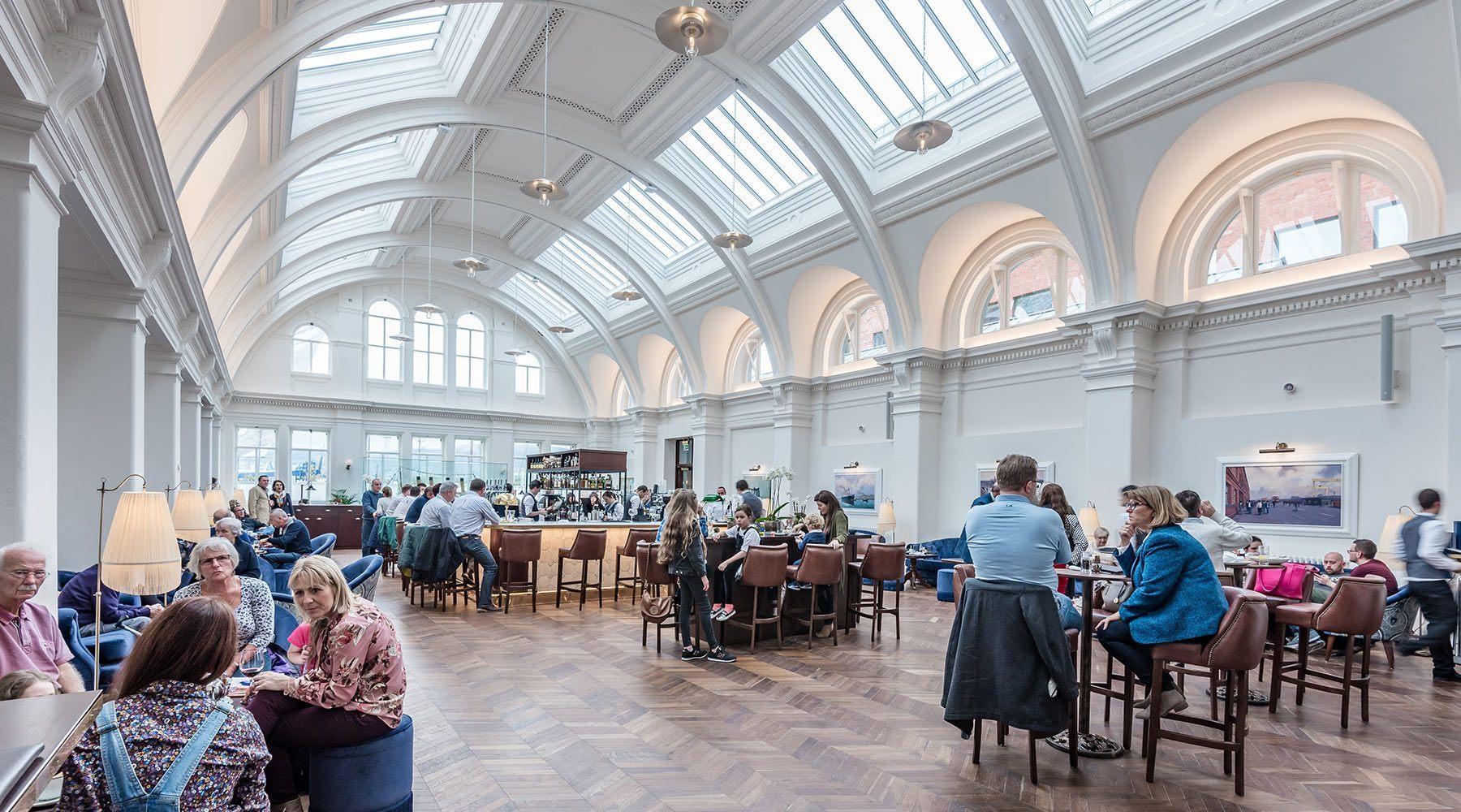 Titanic Hotel Belfast, RMI Architects Interior Projects