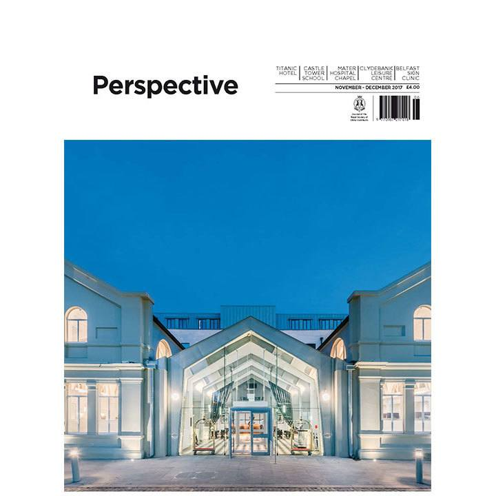 Titanic Quarter Hotel makes cover of Perspective