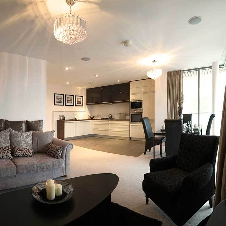 ARC Apartment Interior Design, Titanic Quarter