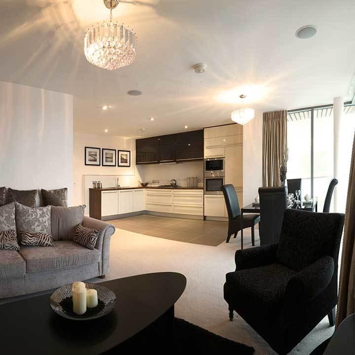 ARC Apartment Interior Design, Titanic Quarter