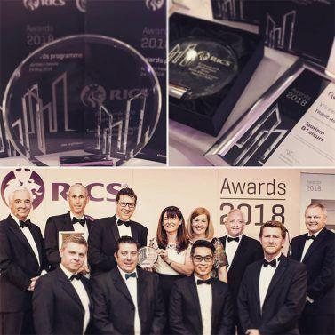 Titanic Hotel receives a Prestigious RICS award