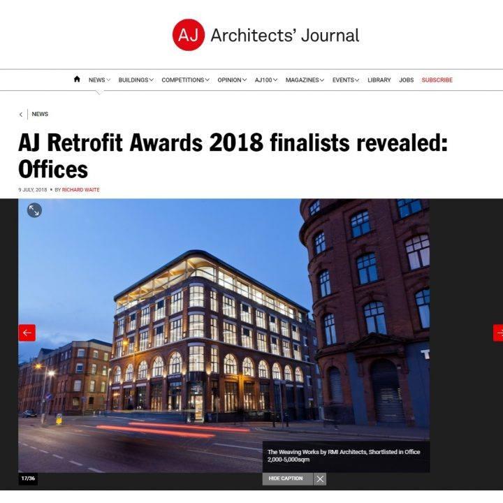 AJ Retrofit Awards Finalist